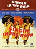 Singin' In The Rain - The Deluxe 50th Anniversary Edition. Partitions pour Piano, Chant et Guitare