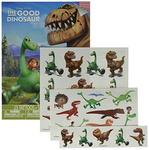 Disney The Good Dinosaur 25 Pack Temporary Tattoos -