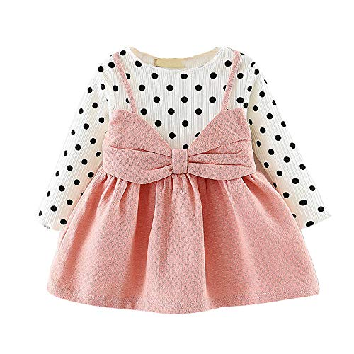 - warriors baby clothes denver broncos baby clothes 9 inch baby doll clothes Newborn Infant Baby Girl Long Sleeve Dot Bowknot Princess Dress Clothes Outfits kids clothing stores 2 year baby girl dress