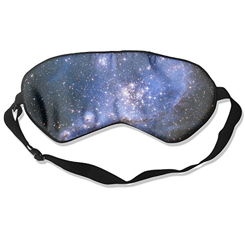 Ming Horse Adult Children Unisex Fantasy Galaxy Starry Eyeshade Sleep Mask Eye Mask