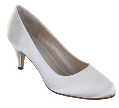 042a1c623573 Rainbow Club Wedding Shoes Jackie Ivory or White Bridal Shoes (UK 5.5 (EU  38.5
