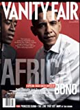 Vanity Fair July 2007 Africa Issue, Barack Obama/ Don Cheadle Cover