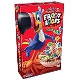 Kellogg's Froot Loops, Breakfast Cereal, Original, Good Source of Fiber, 17 oz Box(Pack of 3)