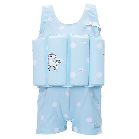 921054c639 Zerlar Swimwear Float Suit with Adjustable Buoyancy for 1-10 Years Babies  Swimming Boating (