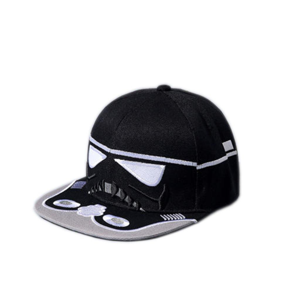 34cd21dcedd Star Wars Stormtrooper Snapback Adult Baseball Cap Hat (Black) at Amazon  Men s Clothing store