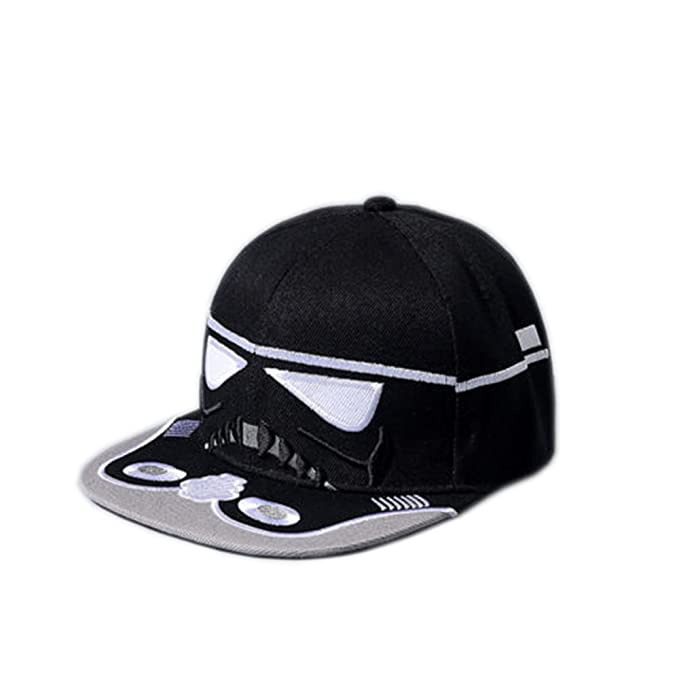 Star Wars Stormtrooper Snapback Adult Baseball Cap Hat (Black) at ... bc32f91ceca
