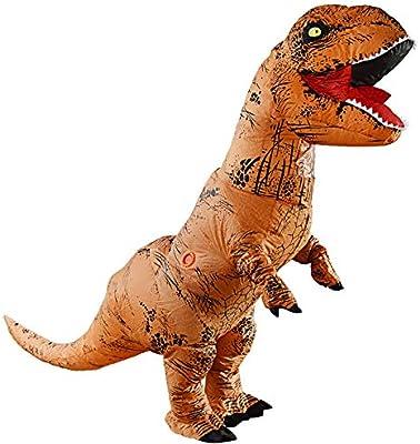 YUQQZ Inflatable Dinosaur Costume Tyrannosaurus Rex Disfraz ...