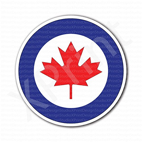 Royal Canadian Air Force Roundel Flag Sticker ()