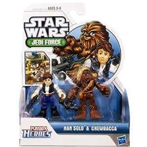 Playskool Heroes Star Wars Jedi Force 2-Pack - Han Solo and Chewbacca