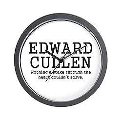 CafePress - 'Hate Edward Cullen' Wall Clock - Unique Decorative 10 Wall Clock