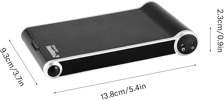 Charging Dock 2 in 1 for 2.5 inch SATA to USB 3.0 SDD HDD Adapter HDD Case with USB 3.0 Cable External Enclosure Box Case