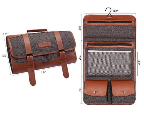0cd4105d8d Jual Hanging Travel Toiletry Bag Pack It Flat Toiletry Kit