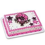 Basketball Stars DecoSet Cake Decoration - Girls