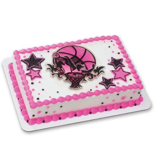 Basketball Stars DecoSet Cake Decoration - Girls by DecoPac