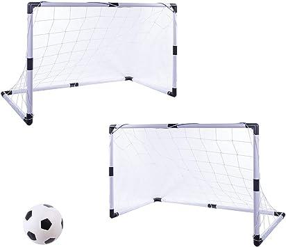 Pumpe Set für Kinder Mini Fußballtor Fußball Tor Fußball Tornetz