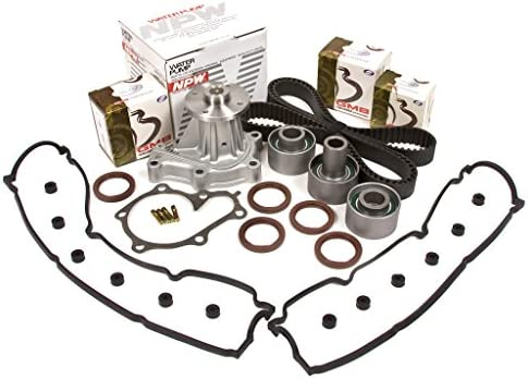 Amazon.com: Evergreen TBK180VCN 90-96 Nissan 300ZX Non & Turbo VG30DE Timing Belt Kit Valve Cover Gasket NPW Water Pump: Automotive
