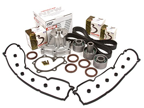 Evergreen TBK180VCN Fits 90-96 Nissan 300ZX Non & Turbo VG30DE Timing Belt Kit Valve Cover Gasket NPW Water Pump