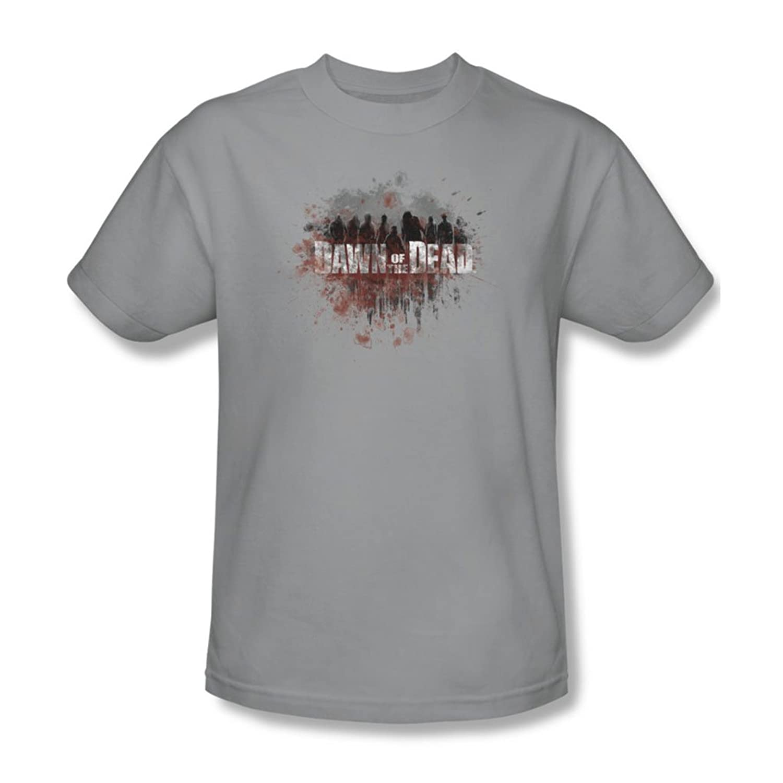 Dawn Of The Dead - Mens Creeping Shadows T-Shirt In Silver
