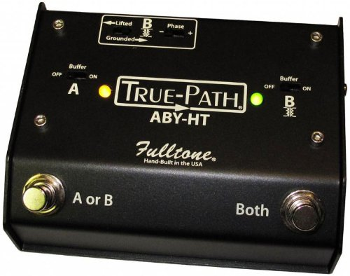 Fulltone Custom Shop True-Path ABY - True-Path ABY, Black by Fulltone Custom Shop