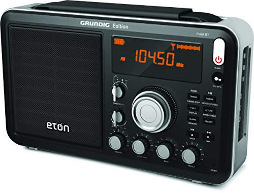 Eton Field AM / FM / Shortwave Radio with RDS and Bluetooth, NGWFBTB