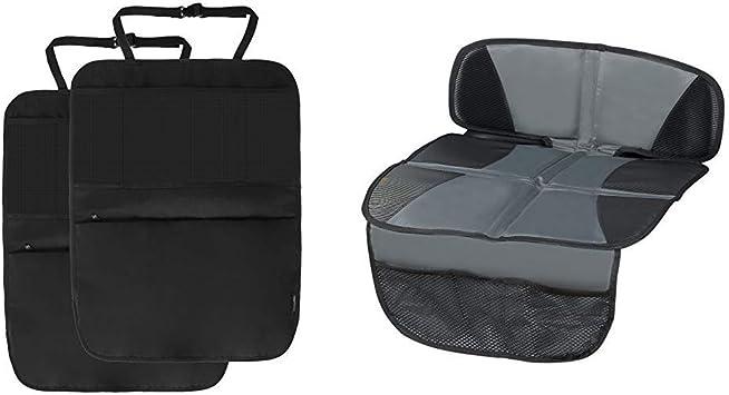 Kindersitzunterlage George XL für PKW schützt den Fahrzeugsitz mit Tasche