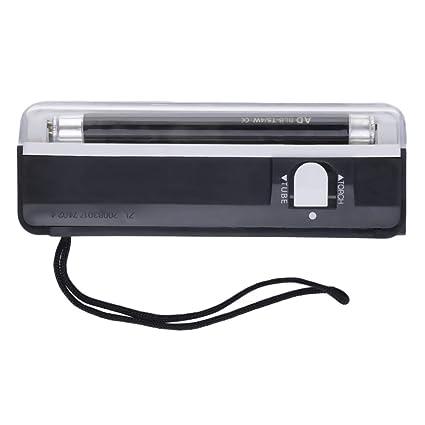 Detector portátil de mano UV Led antorcha lámpara Falsificación detector de dinero falso probador de divisas