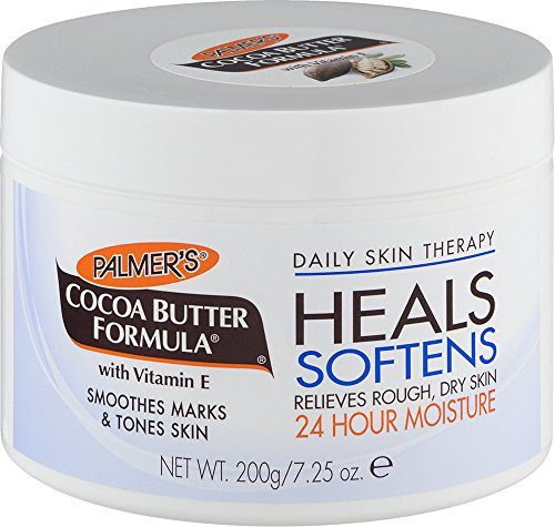 Palmer s Cocoa Butter Formula Daily Skin Therapy Body, Solid Formula Lotion Jar, 7.25 Oz. Pack of 3