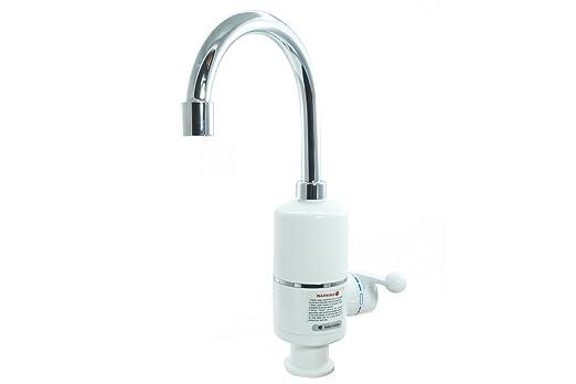 Wasserhahn Mischbatterie Elektro ECO Stecker Kessel heißes Wasser ...
