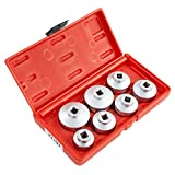 OEMTOOLS 27197  3/8 Inch Drive Oil Filter Removal Socket Set, 7-Piece