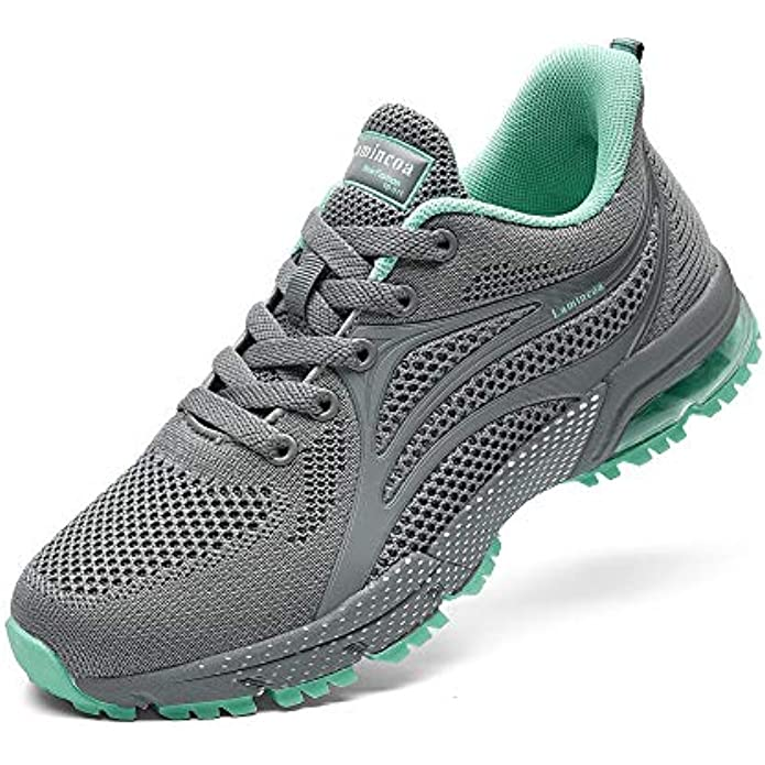 Lamincoa Womens Air Running Shoes Athletic Casual Sports Tennis Road Sneakers for Walking Gym Jogging Training Fitness