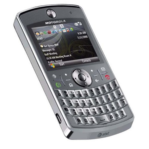 Motorola Q9h Unlocked PDA Cell Phone with 2 MP Camera and Windows Mobile 6.0-U.S. Version with Warranty (Silver) ()