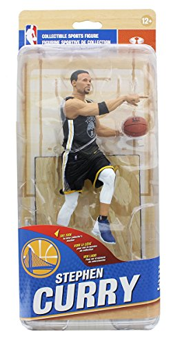 NBA Golden State Warriors McFarlane 32 Action Figure Stephen Curry Black (Variant Mcfarlane Toys)