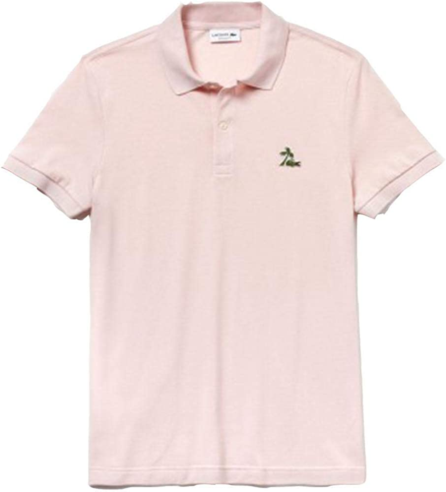 Polo LACOSTE Palm Croc Regular FIT Rosa S Rosa: Amazon.es: Zapatos ...