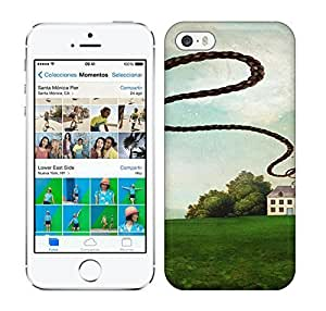 Best Power(Tm) HD Colorful Painted Watercolor The House On The Hill Hard Phone Case For Iphone 6 4.7 Inch Cover