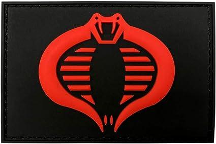 3D-PVC Rubber-3.0 X 2.0 inch-MC8 Miltacusa GI Joe Cobra Tactical Hook Patch