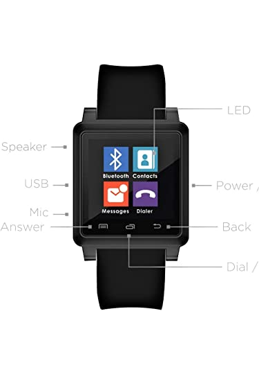 Amazon.com: Q7 Smart Watch: Cell Phones & Accessories