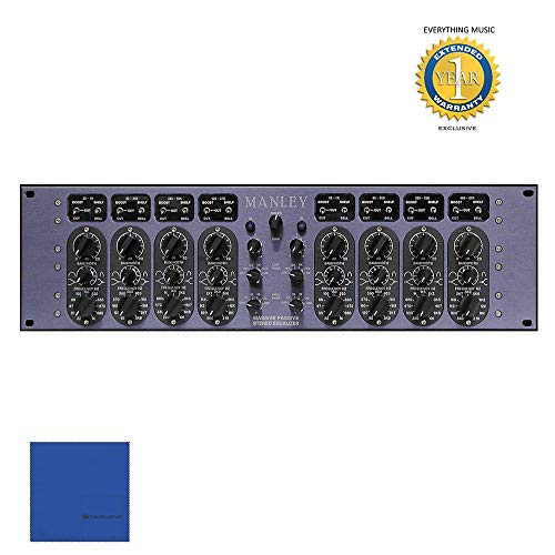 (Manley Massive Passive 2-channel, 4-band Vacuum Tube Equalizer with 1 Year Free Extended Warranty)