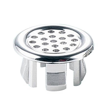 Tapón de desagüe redondo para lavabo de baño, 2 piezas, tapón de desagüe de