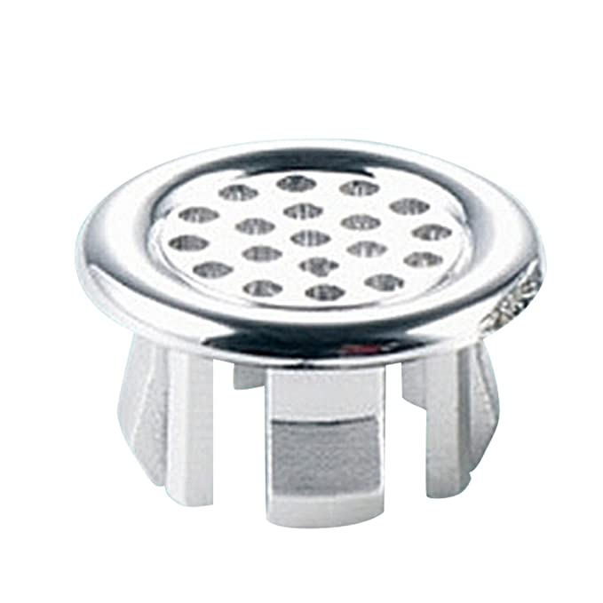 Amazon.com: Sink Round Ring Overflow Spare Cover Tidy Chrome Trim Bathroom Ceramic Basin(Net type): Home Improvement