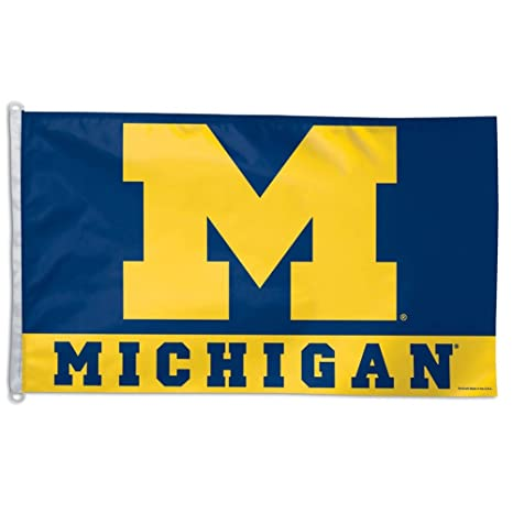 Amazon com : Wincraft Michigan Wolverines 3x5 Flag : Sports