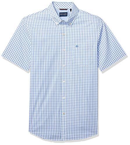 - Dockers Men's Short Sleeve Button Down Comfort Flex Shirt, Dehart Nebulas, Medium