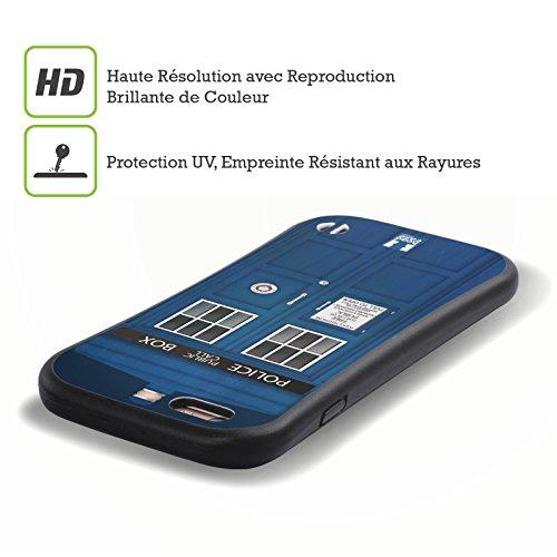 Head Case Designs Poste De Police Cabine Téléphonique Étui Coque Hybride pour Apple iPhone 5 / 5s / SE