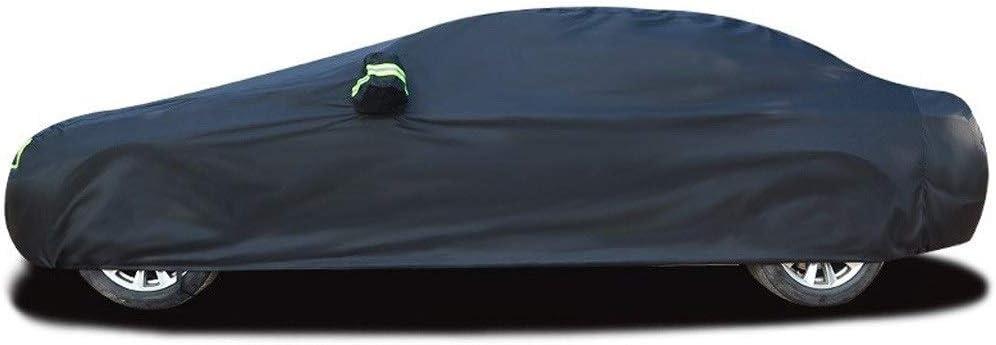 DUWEN Compatible avec la Couverture de Voiture de Renault Megane RS la Protection UV Contre Les Rayures et la Protection Solaire la b/âche de Voiture Tout Temps la Couverture de Voiture Respirante