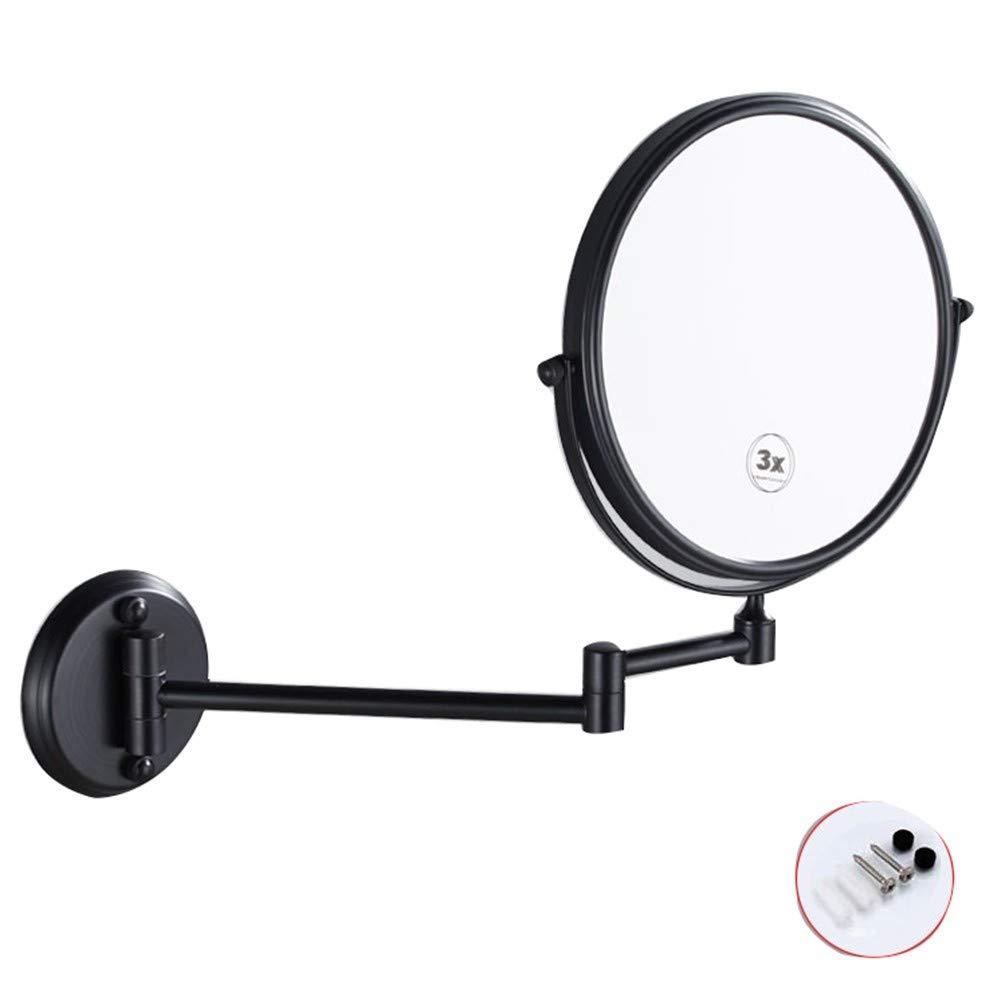 Wshzj Kosmetikspiegel Wandmontage ZWeißeitig Wandspiegel Schminkspiegel Für Schminken, Rasieren Und Tragen Der Kontaktlinsen  Punch
