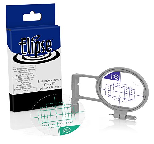 Elipse 1.5-inch x 2-inch Pocket Embroidery Hoop SA442 w/ ...