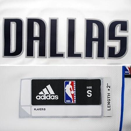 aaf2b3e7c ... Amazon.com NBA Dallas Mavericks White Swingman Jersey Jason Kidd 2