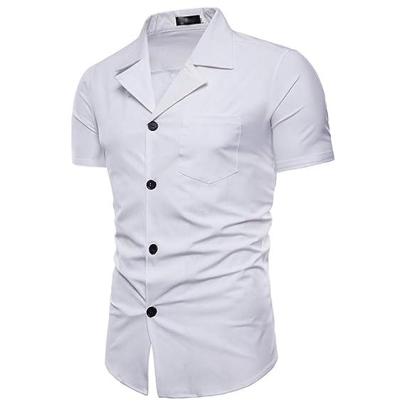 ALIKEEY Camisa De Hombre Camisa De Manga Larga Casual Masculina De Color SóLido De Moda 2018