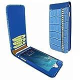 Piel Frama 766 Blue Swarovski Crocodile Classic Magnetic Leather Case for Apple iPhone 7 Plus / 8 Plus