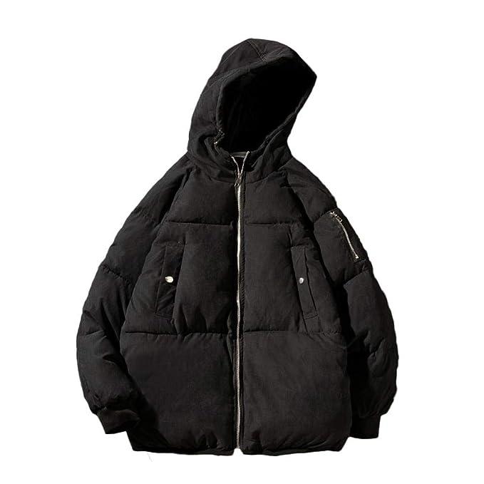 Chaquetas de Invierno Hombres Casual Abrigo de Invierno Hombres Sólido Parka Ropa Masculina Abrigo Prendas de