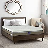 Innerspring Mattress - Luxurcozy 13 inch Plush Mattress with 2 inch Cooling Gel,Multilayer Comfort Memory Foam,1938 Pcs Pocket Spring with Airflow mesh fabric - Medium Soft - 20 Years Warranty - Queen